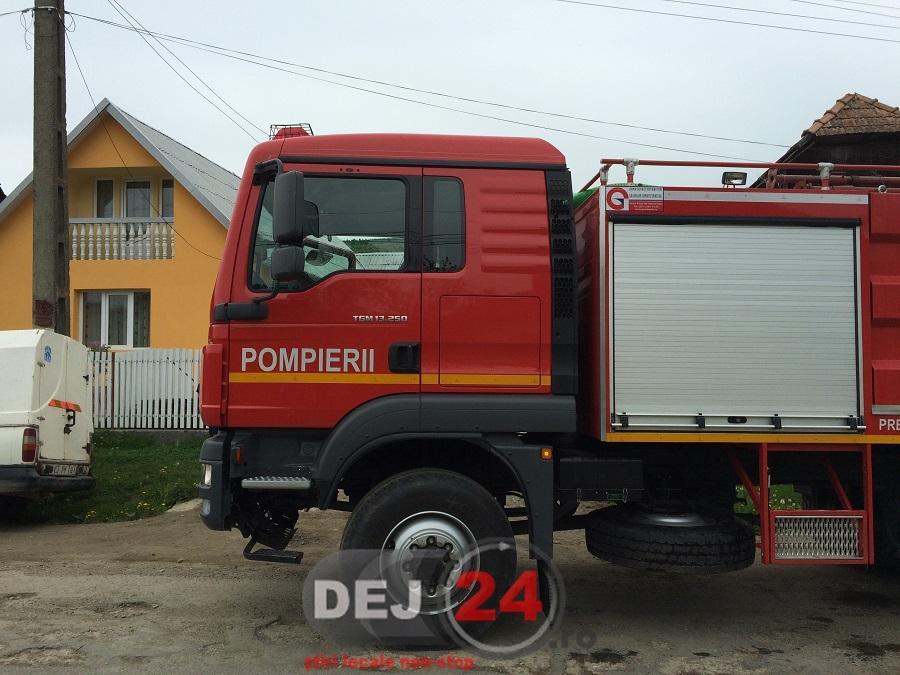 incendiu Nires pompieri (1)