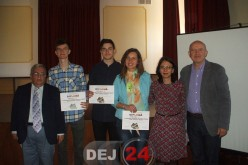 """Trei elevi de la CNAM Dej, premiul I la Concursul Național Interjudețean """"Cultură și civilizație"""" în România"""