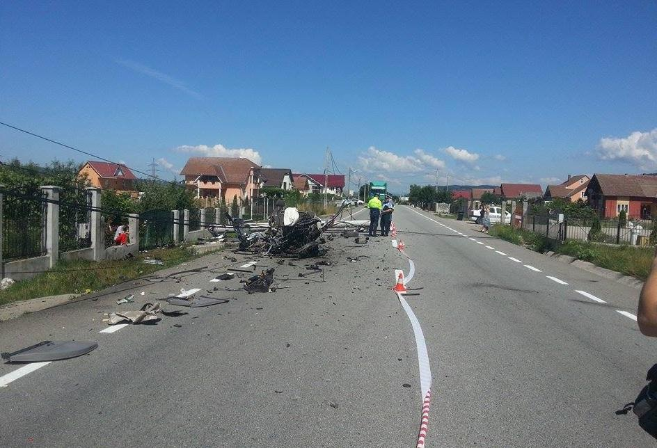 Accident DN17 Sieu Magherus (3)