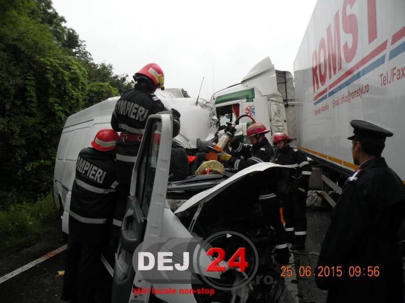 Accident gherlean  mortal Salaj 1