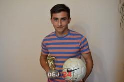 Fotbalist al AS CFR Dej, golgheterul campionatului de juniori în Liga a IV-a – FOTO