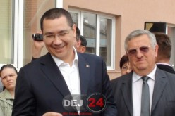 Victor Ponta revine mâine la Dej pentru a susține candidații PSD