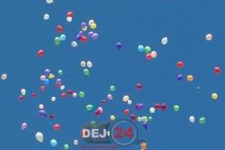 Ziua Părinților de Îngeri la Dej. Au înălțat baloane colorate spre cer – FOTO/VIDEO