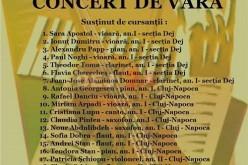 """Concert de vară la Dej. Vor evolua cursanții """"Ars Cantus"""""""