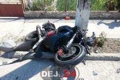 Motociclist din Cășeiu, grav rănit în urma unui accident de circulație