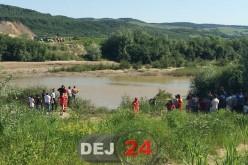 Copil dispărut în apele Someșului, în apropiere de Reteag – FOTO/VIDEO