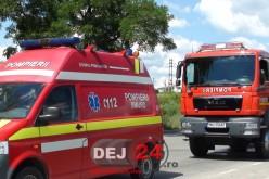 Patru răniți într-un accident rutier petrecut în Coldău