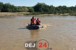 Pompierii au reluat căutările minorului din Reteag dispărut în apele Someșului – VIDEO