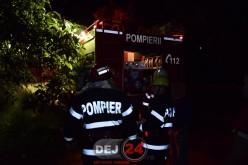 Incendiu la o cabană din Nicula. Au intervenit pompierii din Dej – VIDEO