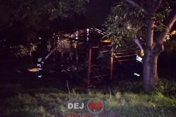 Pompierii din Dej, solicitați să intervină la un incendiu în Ocna-Dej – FOTO/VIDEO