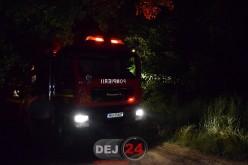 Pompierii din Dej au intervenit, azi-noapte, la un incendiu în Sic