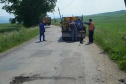 Bani de la județ pentru repararea unor drumuri din apropierea municipiului Dej