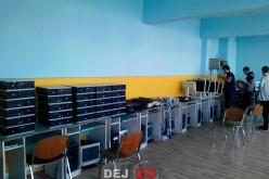 Liceul Tehnologic Someș Dej a primit calculatoare din Olanda – FOTO