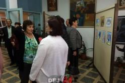 Vernisaj organizat de Rainbow – atelier de creație, la Centrul Cultural Arta Dej – FOTO