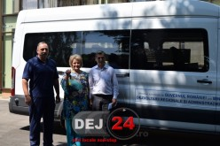 Microbuz în valoare de 112.000 lei, transferat către LAPI Dej – FOTO/VIDEO