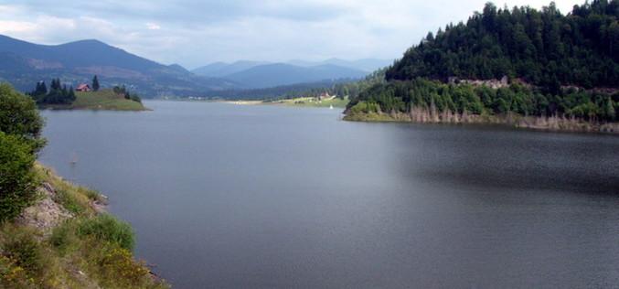 Lacul Colibița ar putea fi golit la primăvară. Vezi de ce