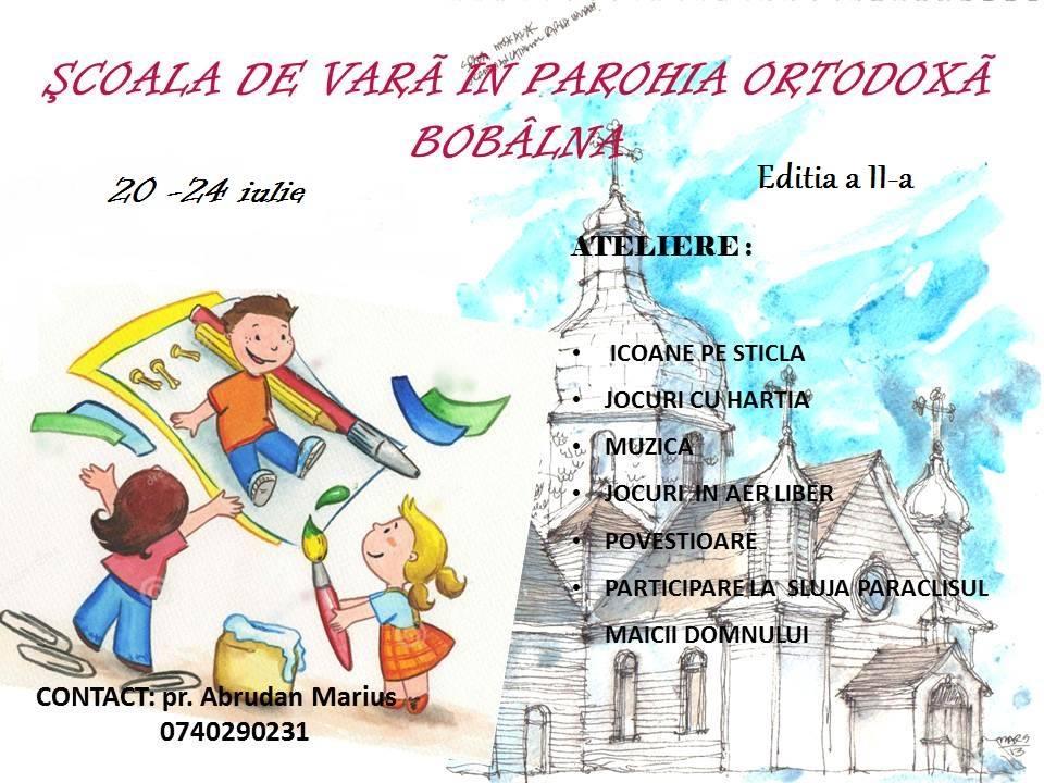 Eveniment Parohia Bobalna