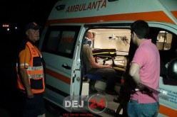 Accident în Bunești, pe DN1C. S-a izbit cu mașina de un cap de pod – FOTO/VIDEO