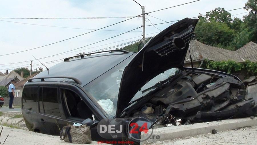 accident cap de pod strada Baia Mare (5)