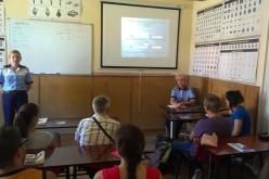 Activități preventive ale polițiștilor la școlile de șoferi din Dej și Gherla