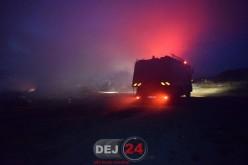 Pompierii din Dej au intervenit la un incendiu izbucnit la o cabană