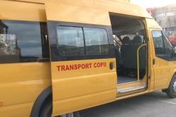 Microbuze școlare noi pentru elevii din Câțcău, Gherla și Țaga