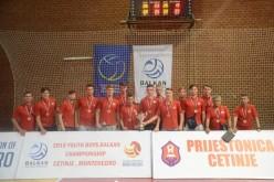 România, medalie de bronz la Campionatul Balcanic. Voleibalist din Dej, selecționat la lot