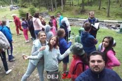Protopopiatul Ortodox Dej. Tabără de vară cu mai mulți copii, la Colibița – FOTO
