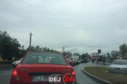 TRAFIC PARALIZAT la Dej. Pe DN1C și DN17 cozile se întind pe mai mulți kilometri – FOTO