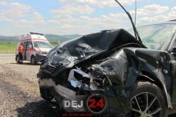 Accident MORTAL pe un drum din Cluj. Șoferul a fost PROIECTAT prin parbriz