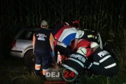ACCIDENT MORTAL în Câțcău. IMPACT VIOLENT între un autotren și o mașină – FOTO/VIDEO