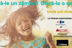 Campanie umanitară realizată pentru ajutorarea elevilor de la Școala Gimnazială Specială Dej