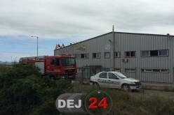 INCENDIU la o fabrică din Dej. Muncitorii au fost evacuați – FOTO/ VIDEO