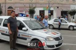 Polițiștii din Dej, MOMENT DE RECULEGERE pentru colegul lor Gheorghe IONESCU, decedat în misiune – FOTO/VIDEO