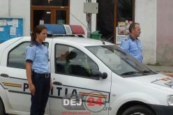 """Exercițiu demonstrativ al polițiștilor la Dej. Evenimentul face parte din """"Săptămâna prevenirii criminalităţii"""""""