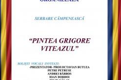 """Serbare câmpenească """"Pintea Grigore Viteazul"""", la Chiuiești"""