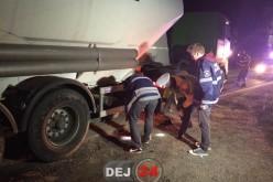 ACCIDENT MORTAL la Cășeiu. Un pieton și-a pierdut viața după ce a fost lovit de o autocisternă – FOTO/VIDEO