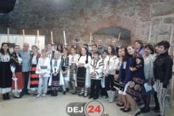 Opt elevi din Dej și Gherla au reprezentat zona la vernisajul unei expoziții din Cluj-Napoca