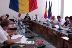 Consilierii locali din Dej se întrunesc într-o ședința ordinară pe luna septembrie