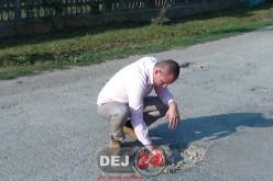 Președintele CJ Cluj, Mihai Seplecan, vizită de lucru pe DJ161D, cel care leagă Dejul de Nireș – FOTO/VIDEO