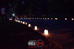 """Locuitorii din Dej care au """"evadat în parc"""" au avut parte de o seară magică – FOTO/VIDEO"""
