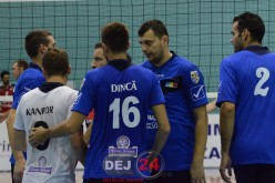 VOLEI. Dinamo București – Unirea Dej 2-3. Dejenii au revenit de la 1-2!