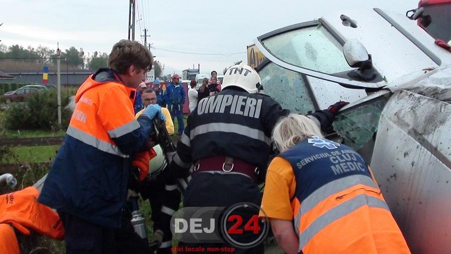 accident Bunesti incarcerat (1)