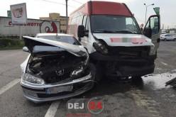 Accident cu TREI VICTIME la intrare în municipiul Dej – FOTO/VIDEO
