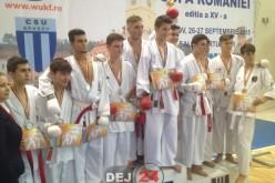 Noi medalii obținute de sportivii clubulului Budokan Ryu la Cupa României Karate WKC – FOTO