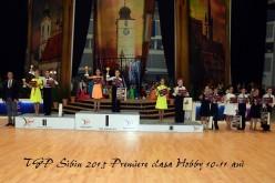 Dansatori de Latino Angles Dej, premiați la Transylvanian Grand Prix Sibiu