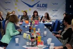 """OFLDE Dej a demarat astăzi campania """"Ești femeie, ești puternică!"""" – FOTO/VIDEO"""