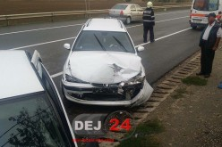 ACCIDENT cu ȘASE VICTIME pe centura municipiului Gherla – FOTO/VIDEO
