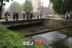 TRAGEDIE LA GHERLA. Bărbat ÎNECAT într-un canal colector – FOTO/VIDEO