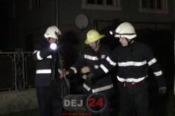 Incendiu în Dej, lichidat de pompieri în câteva minute